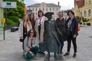 Prvi literani sprehod po Celju po pandemiji Photo: Darja Grdina